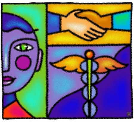 Medical Handshake