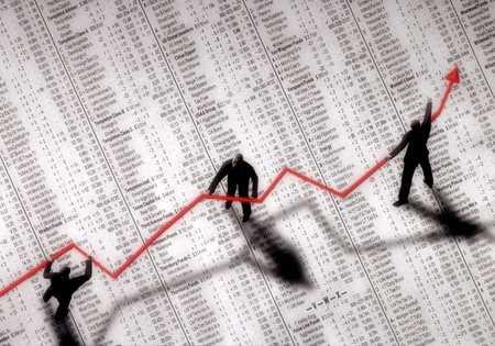 Stocks Increasing in Value/ Bull Market