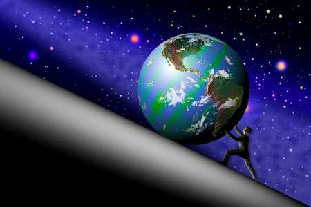 Pushing Earth Uphill
