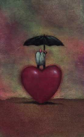 Heart With Umbrella