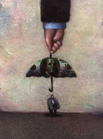 Money Umbrella