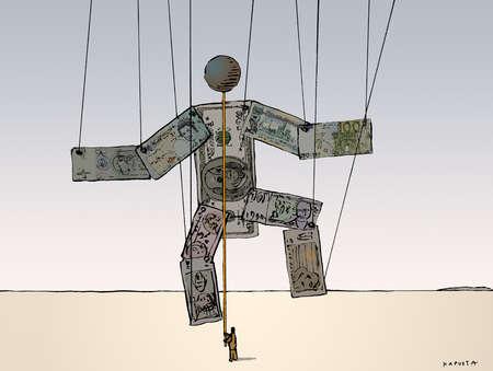 「puppet of money」的圖片搜尋結果