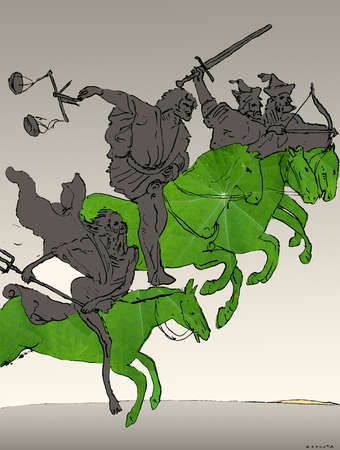 Four horseman of the apocalypse