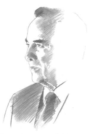 Portrait of Bob Dole