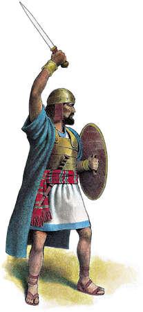 Illustration of King David