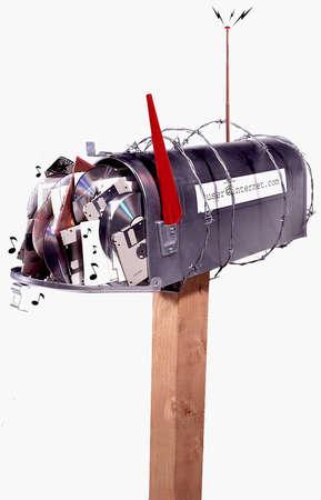 Jammed mailbox