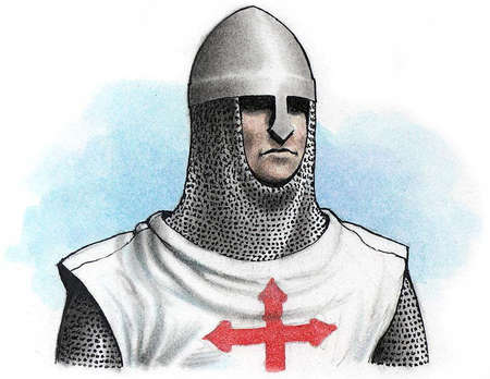 Christian knight of the Third Crusade