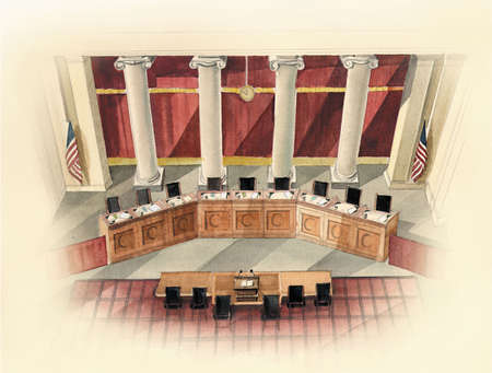 Courtroom of the U.S. Supreme Court