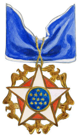 The Presidential Medal of Freedom, the foremost US civilian decoration