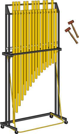 Tubular bells and hammers