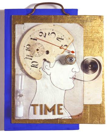 Clock in man's brain