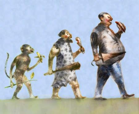 Evolution of man's eating habits
