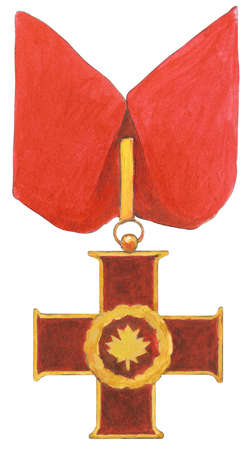 The Cross of Valour, the highest of the Canadian Civil Awards, is presented to individuals - both Canadians and foreigners, living and deceased - who have performed acts of courage in circumstances of extreme peril.