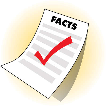 List of facts with check mark