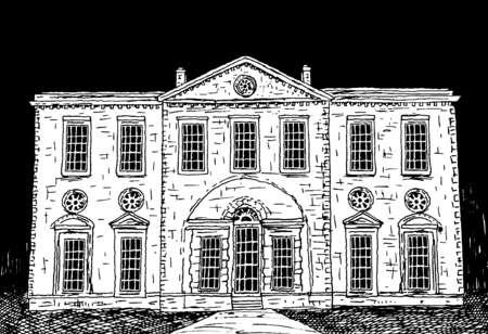 Facade of estate