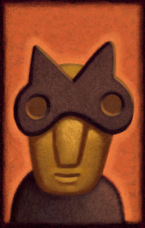 Special Agent, Masked Man