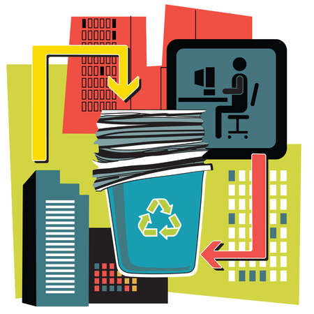Recycling and technology images