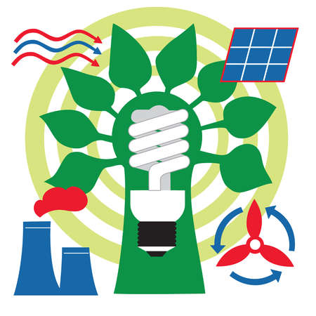 Energy and electric power symbols