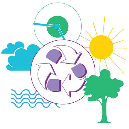 Energy and recycling symbols