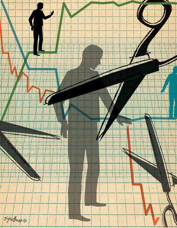 Cuts in Employment