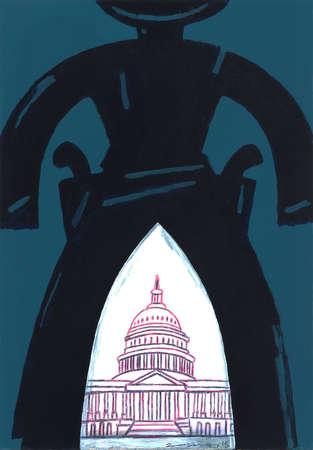 Gunslinger heading for Congress