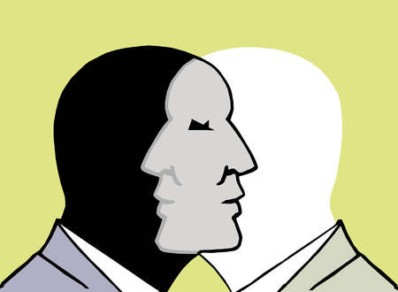 2 Faces Intersecting