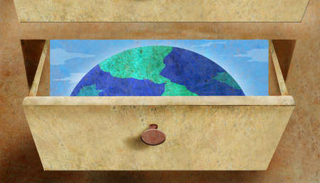 The earth in a drawer