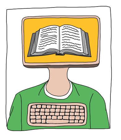 Person as an e-book