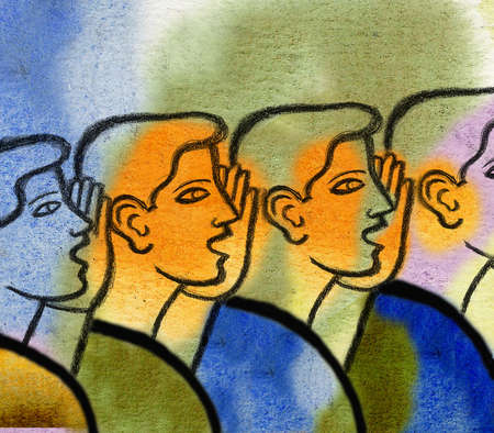 Row of Gossipers