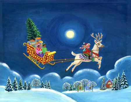Winter Sleigh Ride