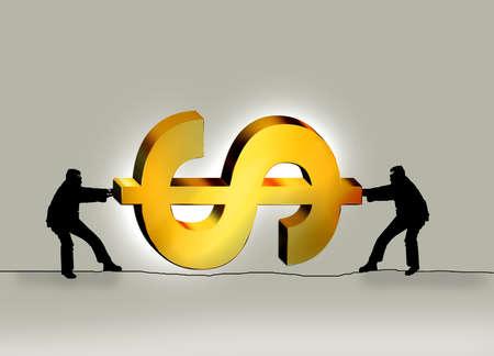 Fighting Over Dollar