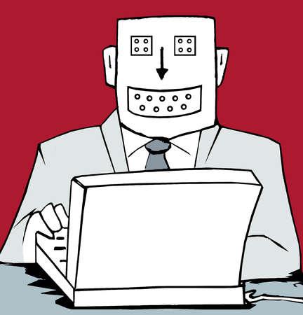 Robot Using Computer