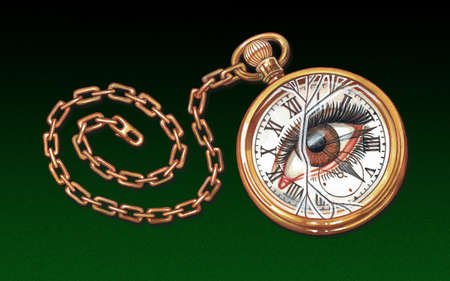 Hypnotism Pocket Watch
