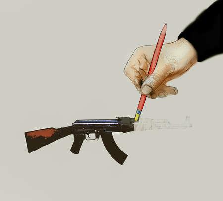 Hand Erasing Gun