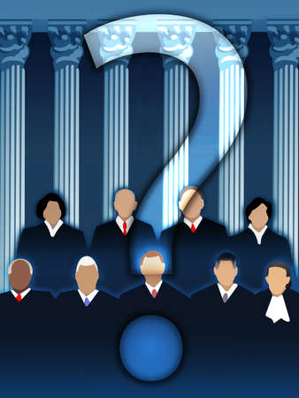 Supreme Court Question Mark