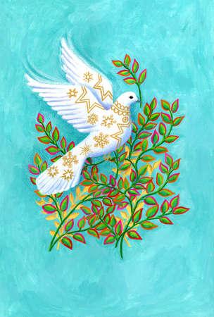 Embellished Dove