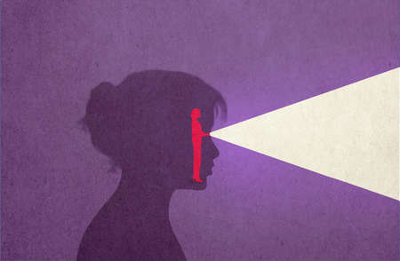 Woman Torchlight