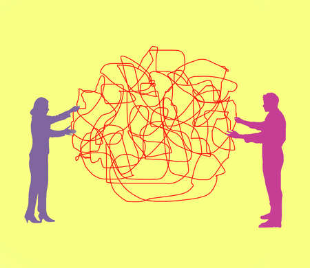 Two People Tangle