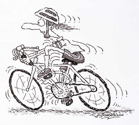 Image result for cycling to pub cartoon