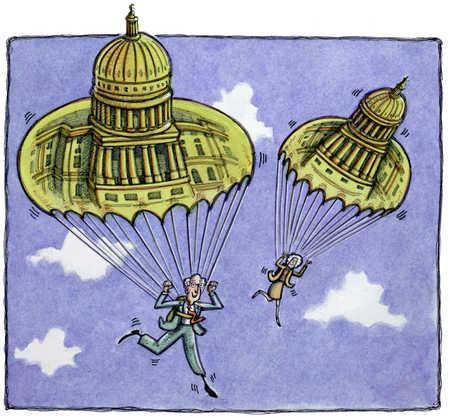 Capitol Hill Parachutists