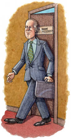 Vice President Leaving Office