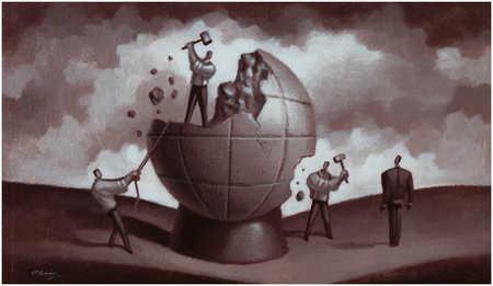 Smashing Globe