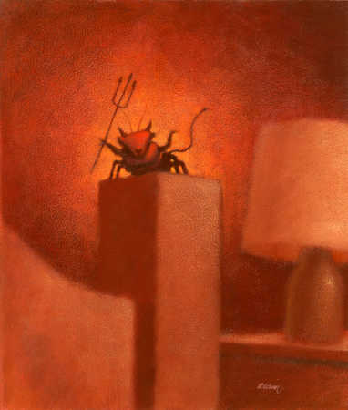 Bug characterized as the devil sitting on bedpost