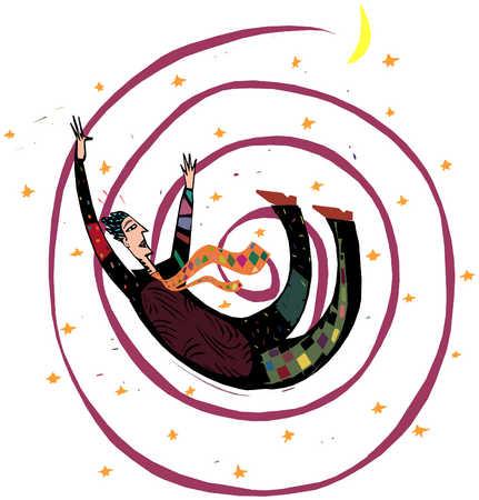 Man In Spiral