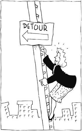 Detour In A Woman's Career