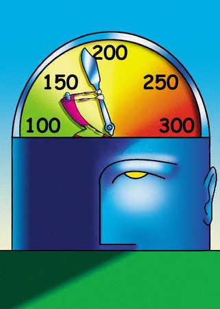 Head indicator