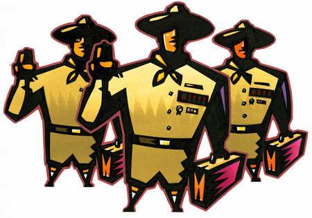Boy Scout Businessmen