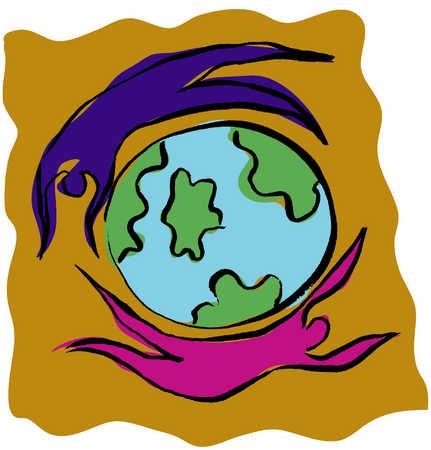 Figures revolving around world