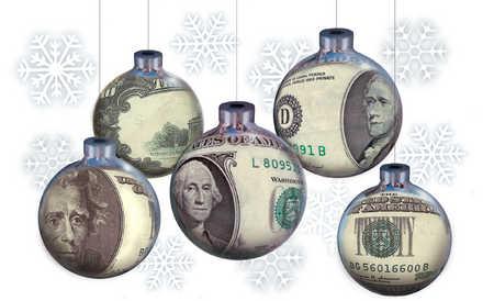 Stock Illustration - Money Ornaments
