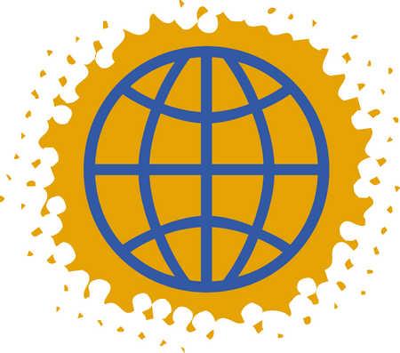 Stock Illustration Global Symbol